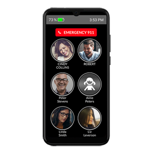 Memory Photo Mobile Phone for Seniors
