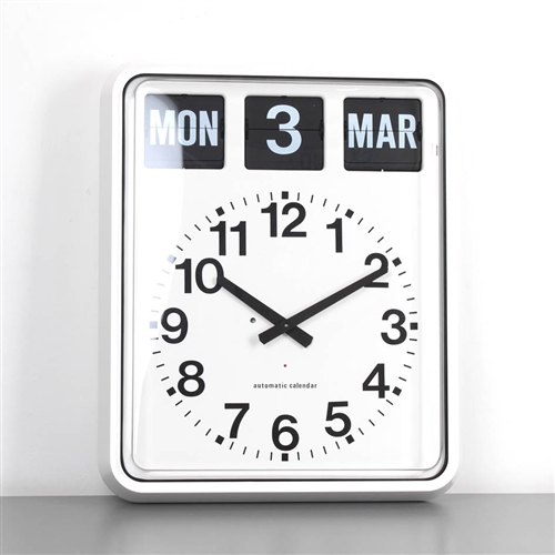 Day And Date Flip Clock For Dementia Alzheimer S Easy